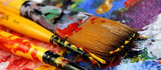 Huiles sur Toiles, Peintures